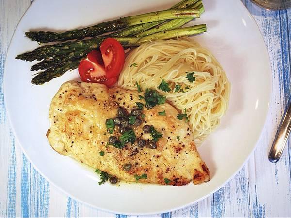 小週末浪漫晚餐:義式檸檬香煎雞排 Chicken Piccata