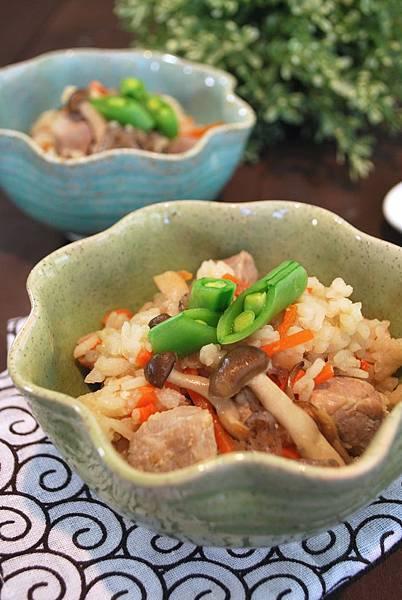 鹽麴日式五目炊飯 Shio Koji Rice w/ Pork and Veggie