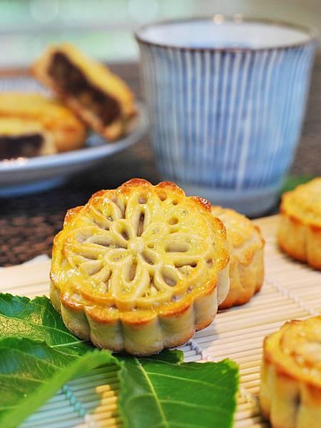中秋月餅大挑戰:廣式豆沙核桃月餅 Red Bean & Walnut Moon Cake