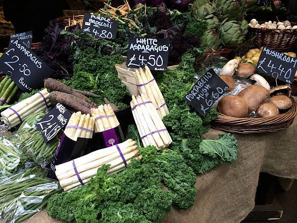 尚青的庶民美食:倫敦波若市集 Borough Market