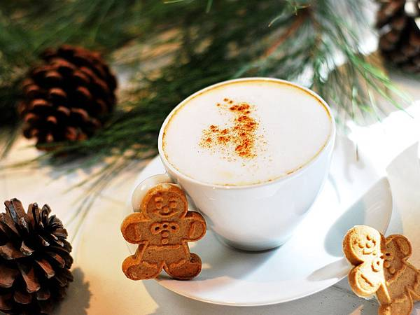 ★耶誕限定☆薑餅人拿鐵 Homemade Gingerbread Latte
