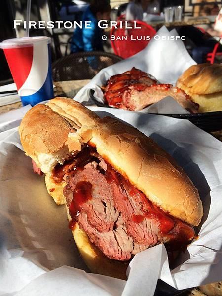吮指回味的美式厚切燒烤 Firestone Grill, San Luis Obispo