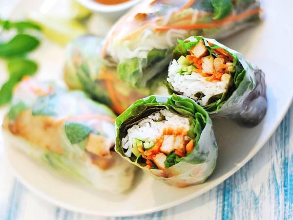 春日開胃這樣捲:越式香茅豬肉米紙捲 Vietnamese Pork Rice Paper Rolls