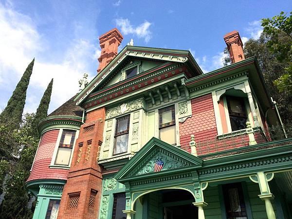 穿越時空小春遊,洛杉磯也有彩色屋!Heritage Square Museum
