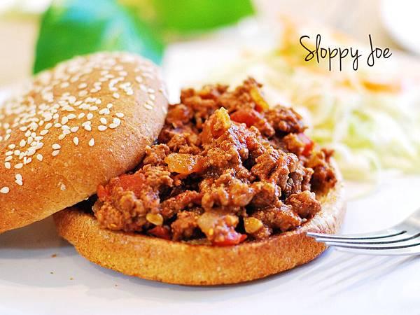 美版肉燥夾麵包:邋遢喬肉醬三明治 Sloppy Joe Sandwich