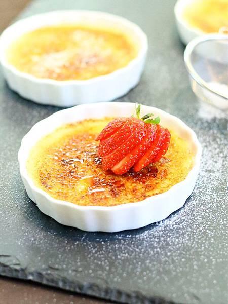濃情蜜意過七夕:焦糖烤布蕾 Crème Brûlée