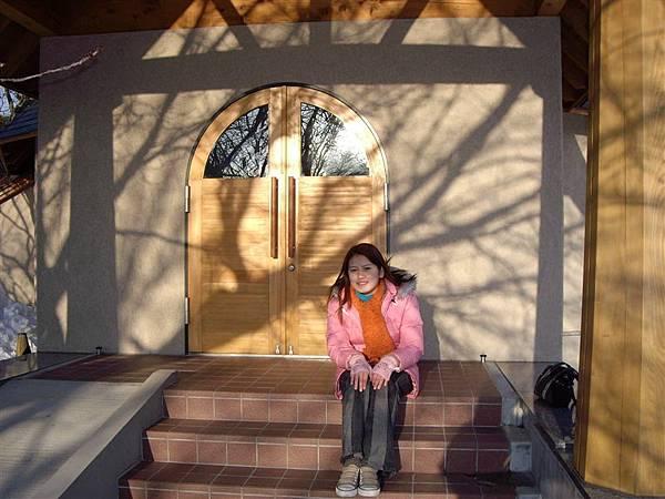 聖母寺的外面