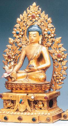 八大藥師佛像之一/十八世紀/拉薩羅布林卡藏.jpg