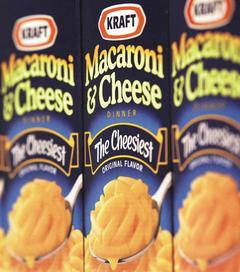 全球第二大食品製造商卡夫食品公司 (Kraft Foods)第三季被迫調高售價,以克服銷售不振與原料成本上揚的衝擊,但獲利仍超越分析師預期。美聯社.jpg