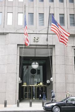 紐約高盛總部是金融業者最嚮往的高薪職場。歐新社.jpg