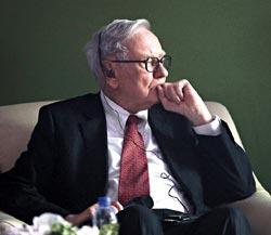 「股神」巴菲特在CNBC專訪中說,他最糟的投資就是波克夏公司(Berkshire Hathaway)前身的紡織廠。(路透).jpg