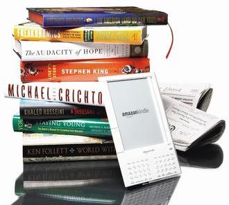 亞馬遜12月1日起提高報章雜誌透過Kindle電子書商店銷售的拆帳比率,出版商將可獲銷售的70%。(彭博資訊).jpg