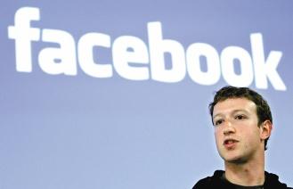 消息人士透露,Facebook將延後上市,讓執行長查克柏格拓展業務並磨練管理能力。歐新社.jpg