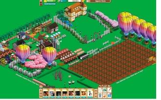 開心農場將結盟觸角伸向真正的有機農場與零售商,並以推陳出新的策略抓住玩家胃口。 (彭博資訊).jpg