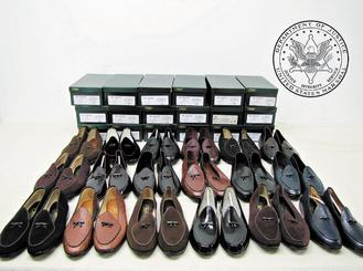 馬多夫紐約豪華公寓的幾千件物品在紐約公開拍賣,他的皮鞋、鋼琴和手表都賣到不錯的價錢。美聯社.jpg