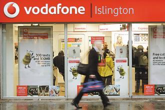 伏得風(Vodafone)宣布將以50億美元出售日本無線電信商軟體銀行(Softbank)的資產給軟體銀行。(彭博資訊).jpg