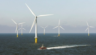 丹麥風力發電,享有優異成績。(Reuters).bmp