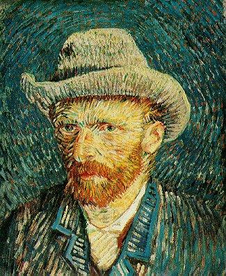 Vincent Van Gogh, Autoritratto.bmp