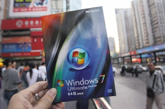 微軟10月轟動推出Windows 7,但如潮佳評之後,一如從前幾次升級,用戶的抱怨開始湧入。.bmp