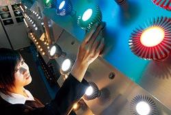 雖然台灣LED產業仍處於領先,不過三星正急起直追!(張智傑攝).jpg