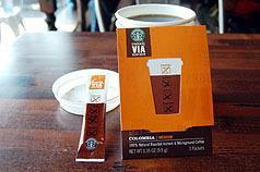 星巴克推即溶咖啡 看的多喝的少.bmp