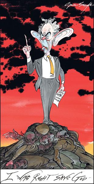 Gerald Scarfe cartoon 13 December 2009.bmp