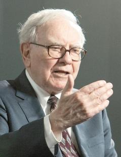 市場條件欠佳,巴菲特擁有股票的業者是少數IPO看好者。美聯社.bmp