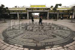 艋舺公園完工後成了萬華另一重要地標,但至今對許多外來客而言,仍是一處「生人勿近」之地。(攝影/莊坤儒).bmp