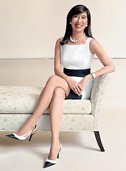 鍾彬嫻認為,要做好女性執行長的職務,一定要懂得主動出擊。.bmp