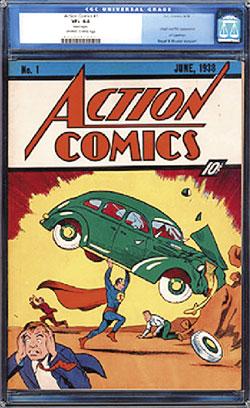 才1個月的時間,超人與蝙蝠俠的漫畫拍賣先後創天價,一再打破漫畫書的拍賣紀錄。最新戰況是超人漫畫在周一以150萬美元(4,760萬台幣)成交,又再創新紀錄。.jpg