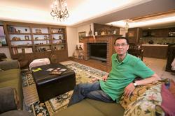敦南豪宅內溫暖復古的鄉村風,正如劉友威的投資經歷一樣耐人尋味。【攝影+林煒凱】.jpg