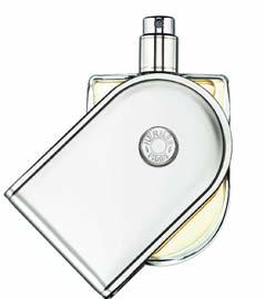 Voyage旅行,愛馬仕年度新香,以玻璃和鋁材為瓶身,蓋身也是底座,透過旋轉,瓶身可以站立,成為愛馬仕美麗的物件。圖/HERMES提供.jpg