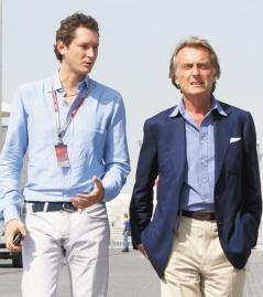 艾爾康(左)將取代狄蒙泰柴莫洛(右),出任飛雅特汽車公司的董事長。(美聯社).jpg
