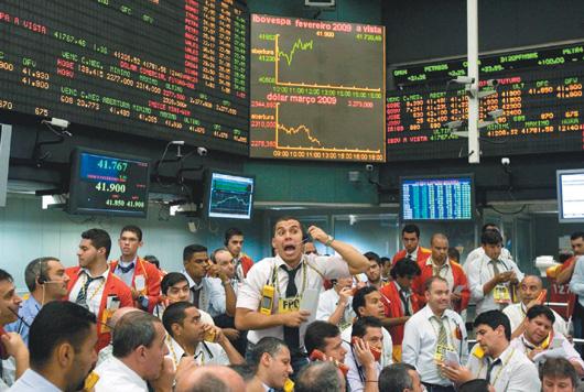 美國量化寬鬆措施可望促使資金湧向巴西及其他經濟成長率高的新興市場。歐新社.jpg
