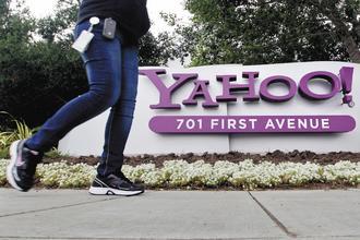 知情人士透露,私募股權業者正分別和AOL、新聞公司討論收購雅虎事宜,這已是雅虎近三年來第二度成為併購目標。(彭博資訊).jpg