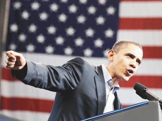 抓不住民心? 歐巴馬總統雖然帶領美國度過金融危機,但經濟復甦不明顯,影響民主黨選情。.jpg