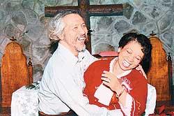 田朝明(左)與田孟淑夫妻,見證台灣民主奮鬥史長達半世紀。( 台北電影節提供).jpg