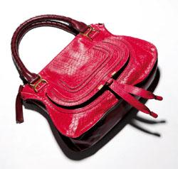 紅色蟒蛇皮小型Marcie Bag NT$127,200.jpg