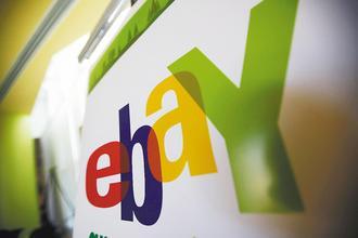受到愈來愈多消費者造訪,商務網站eBay提出第四季財報預測,營利和獲利都優於分析師預估。美聯社.jpg