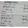 6台鐵車票