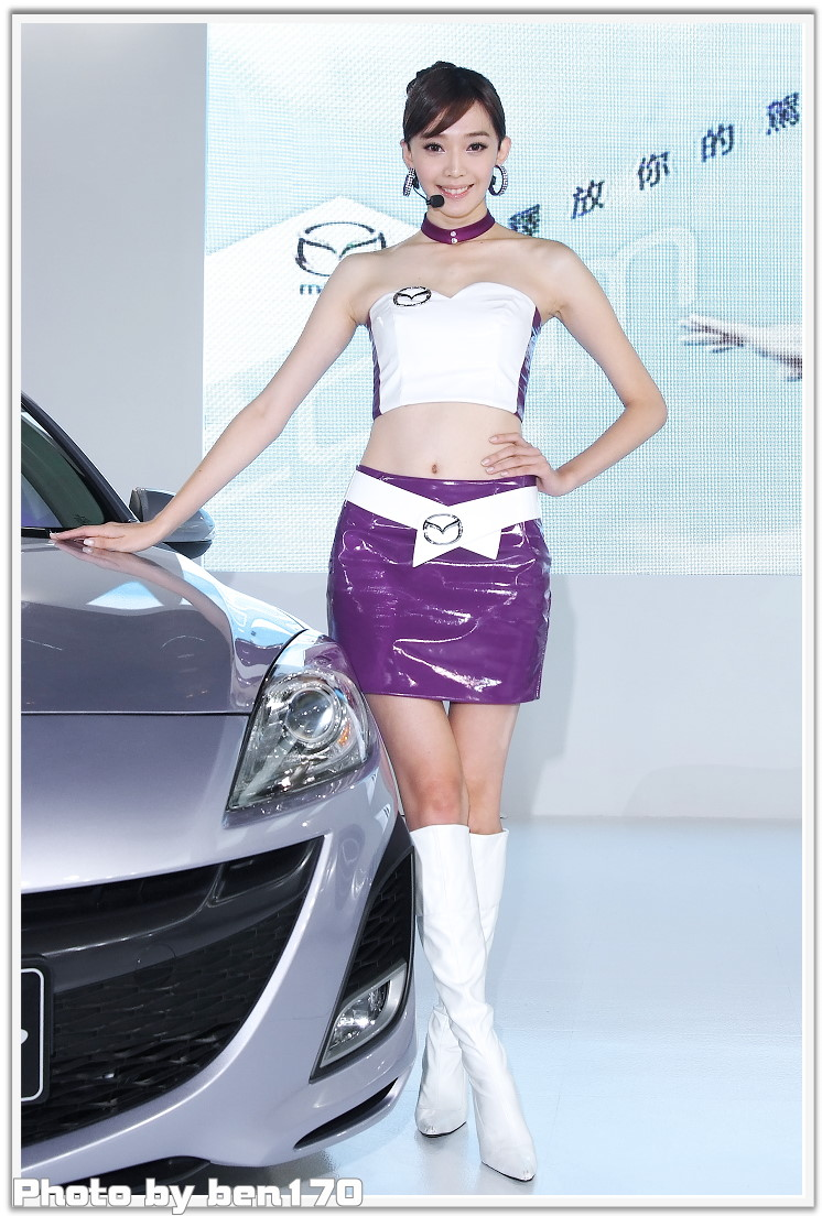 2010台北車展  王心恬  MAZDA