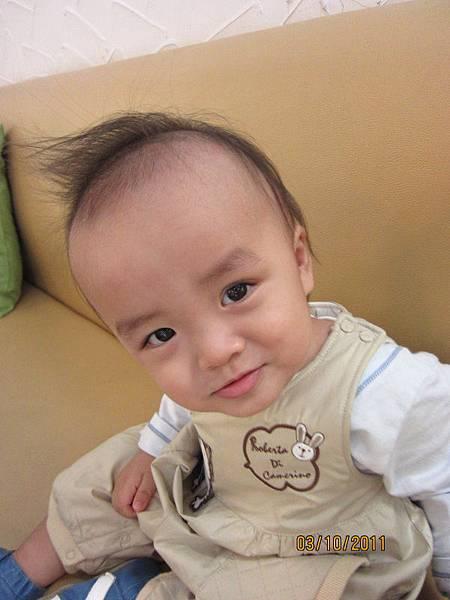 1003媽咪幫我弄了酷髮型
