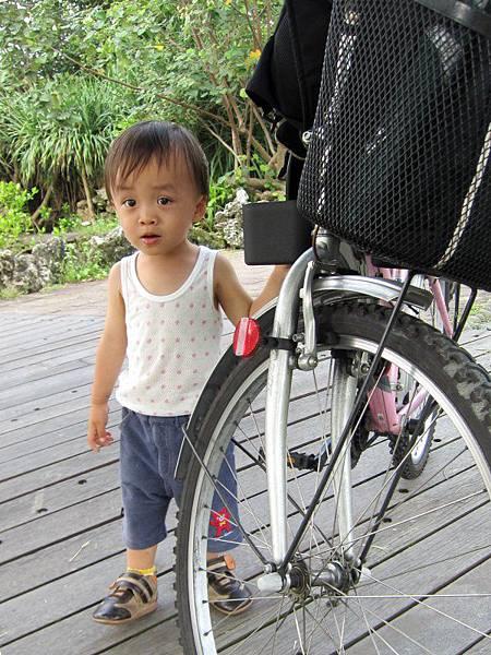 0531喜歡騎單車出遊的寶寶