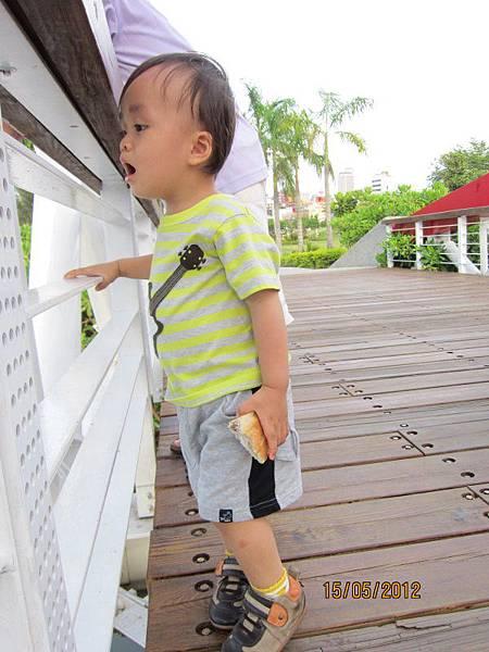 0515媽咪說要帶我去看水鴨