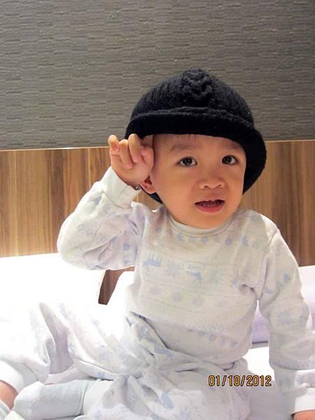 1001這個帽帽好看嗎?