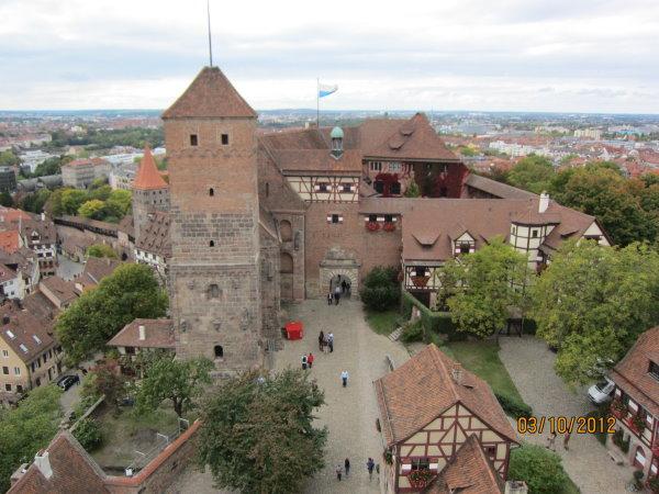 1003從凱撒堡的高塔俯瞰