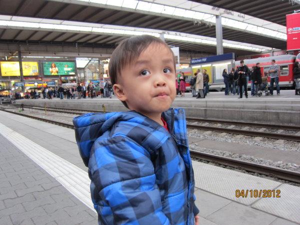 1004慕尼黑車站有40幾個月台