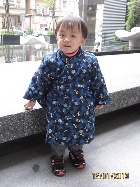 0112新做的鋪棉和服