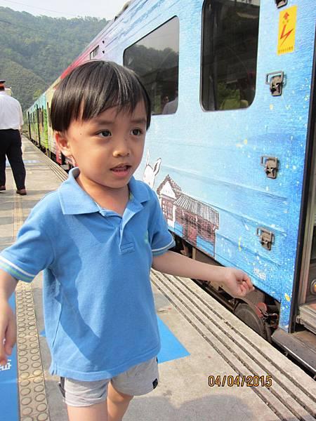 0404到內灣坐小火車