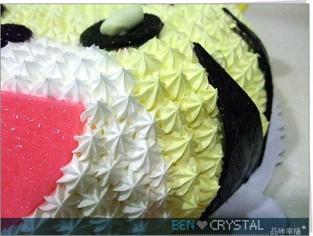 農曆兩歲生日-小敏媽咪做的巧虎蛋糕